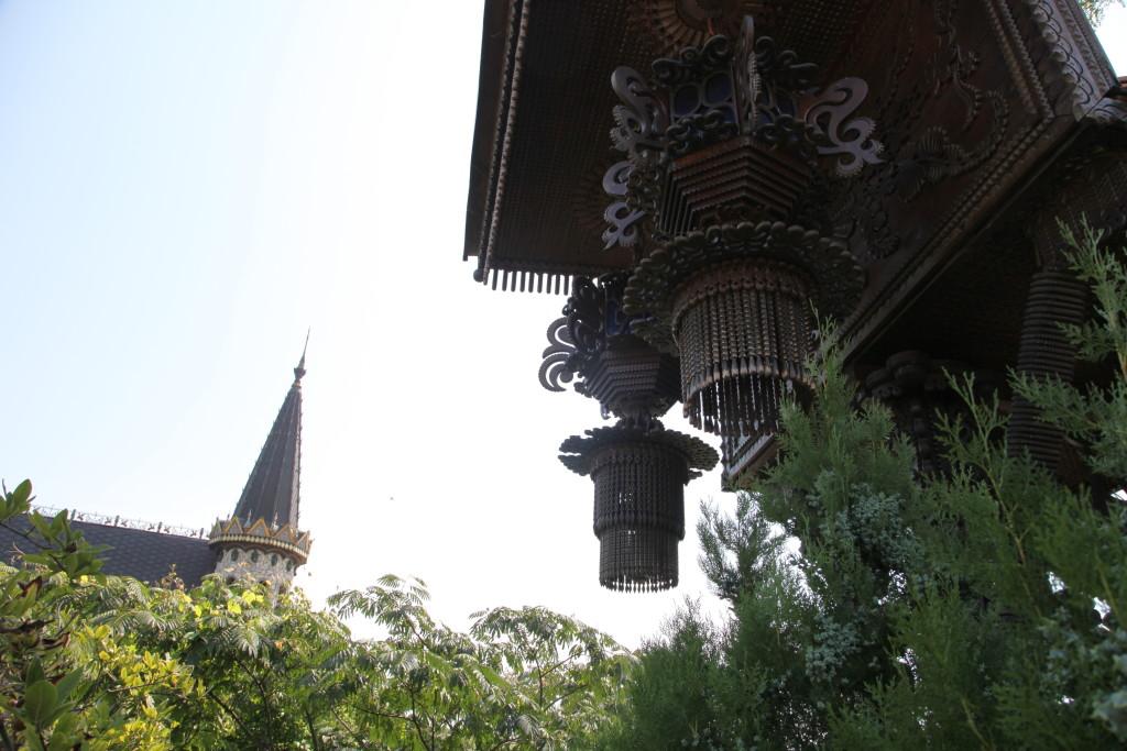Дървен детайл от замъка на Рачо