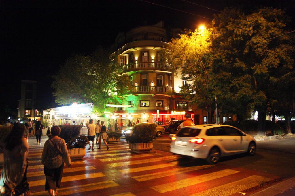 Към центъра на Бургас