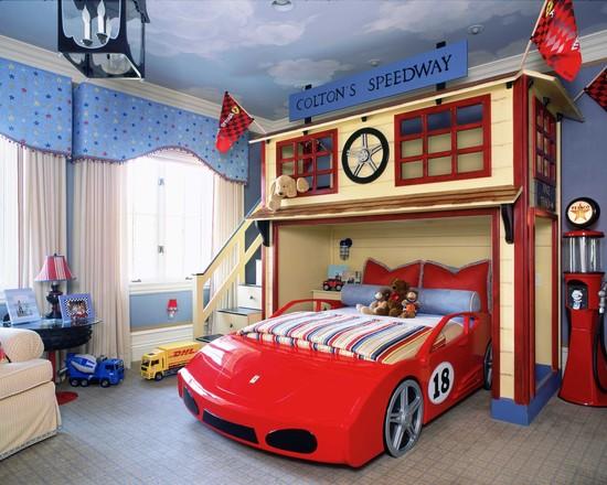 sport-boy-bedroom-car-bunk-bed-ideas